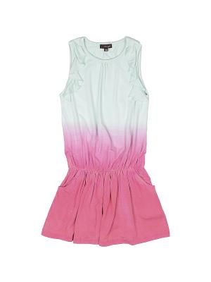 Платье Imoga. Цвет: розовый