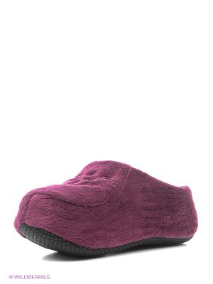 Носки-тапочки HOBBY LINE. Цвет: фиолетовый