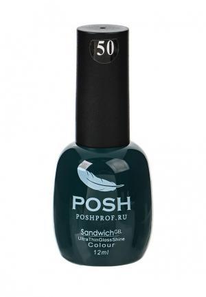 Гель-лак для ногтей Posh. Цвет: зеленый