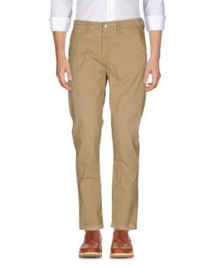 Повседневные брюки MELTIN POT. Цвет: песочный