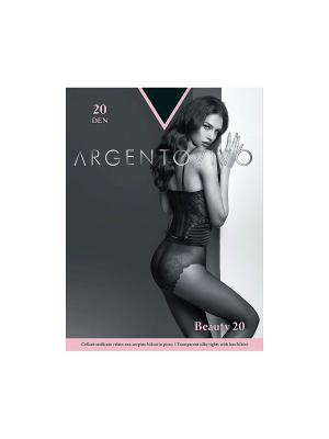 Колготки Beauty 20 Argentovivo. Цвет: черный