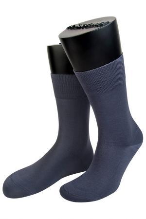 Носки ASKOMI. Цвет: серый
