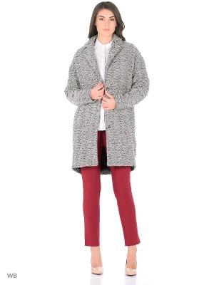 Пальто Play Fashion. Цвет: серый
