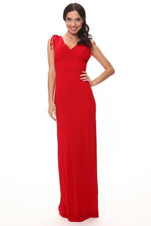 Вечернее платье с отрезным лифом Piamente. Цвет: красный