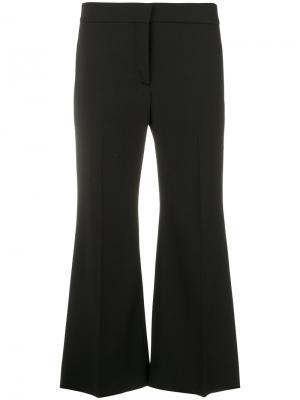 Укороченные расклешенные брюки Valentino. Цвет: чёрный