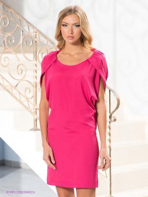 Платье Levall. Цвет: фуксия