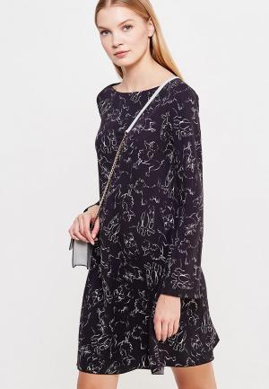 Платье Sportmax Code. Цвет: черный