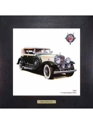 Картина-сувенир Cadillac, V-16 Convertible Berline (1930 г.) Ceramic Picture. Цвет: антрацитовый