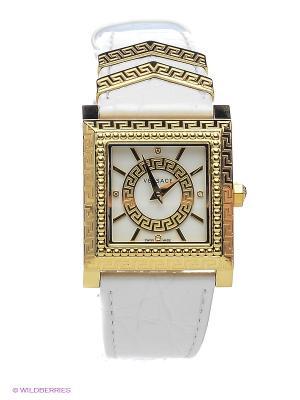 Часы Versace. Цвет: золотистый, белый