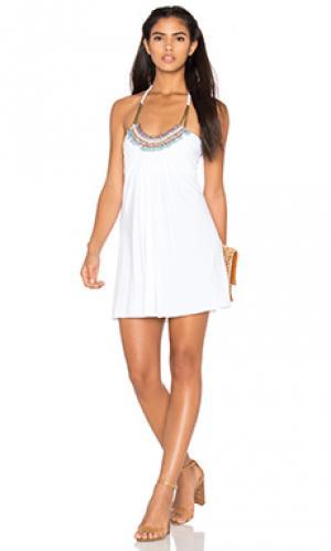 Платье golla sky. Цвет: белый