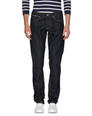 Джинсовые брюки SIVIGLIA WHITE. Цвет: синий