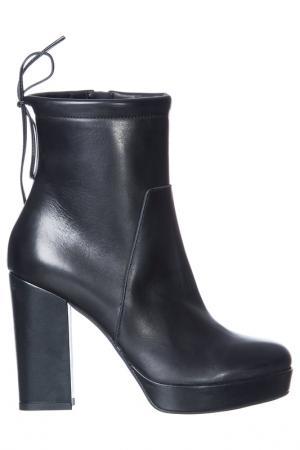 Booties NILA. Цвет: черный