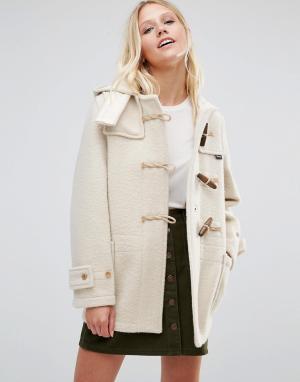 Gloverall Белое пальто Monty. Цвет: белый