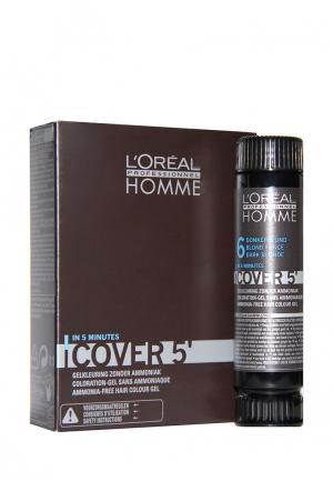 Гель тонирующий №6 LOreal Professional L'Oreal. Цвет: коричневый