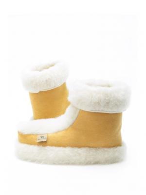 Тапочки ALWERO. Цвет: желтый