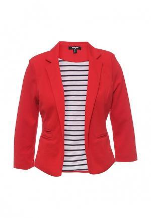 Пиджак Jennyfer. Цвет: красный