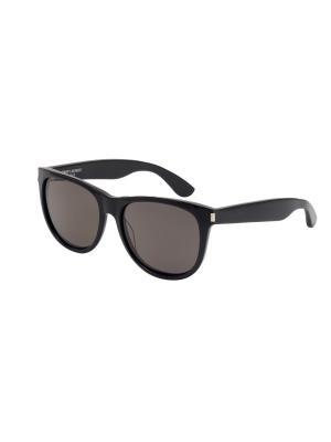 Солнцезащитные очки Saint Laurent. Цвет: черный