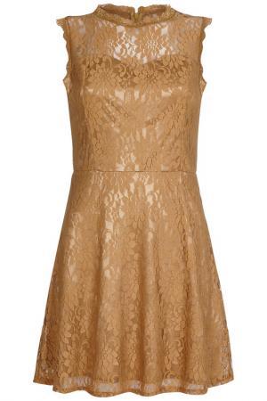 Платье Iska. Цвет: оранжевый