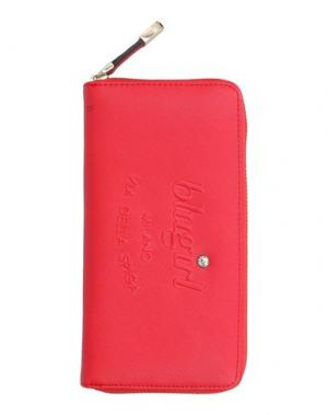 Бумажник BLUGIRL BLUMARINE. Цвет: красный