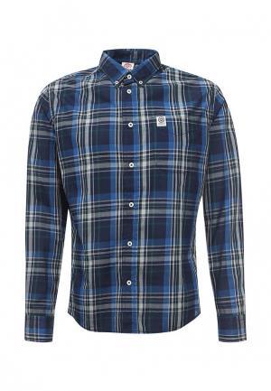 Рубашка Franklin & Marshall. Цвет: синий