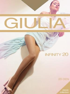 Колготки INFINITY 20, 2 пары (20 ден) Giulia. Цвет: рыжий