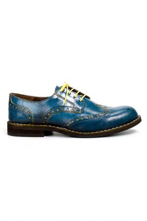 Ботинки Fly London. Цвет: голубой