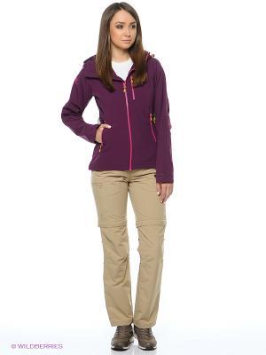Куртка Bergans. Цвет: сливовый, розовый