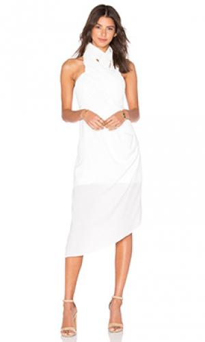 Платье duncan Acler. Цвет: белый