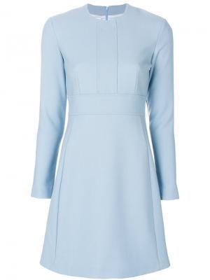 Расклешенное платье Dondup. Цвет: синий
