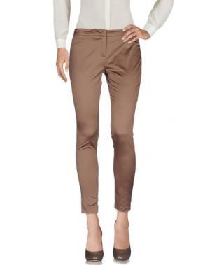 Повседневные брюки TROU AUX BICHES. Цвет: коричневый