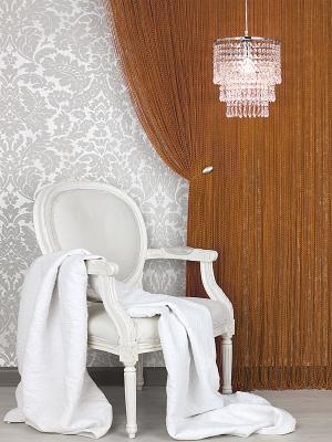 Гардина-лапша Haft. Цвет: коричневый