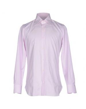 Pубашка GIAMPAOLO. Цвет: розовый