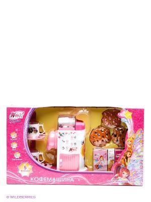 Кофемашина Играем вместе winx. Цвет: розовый, белый