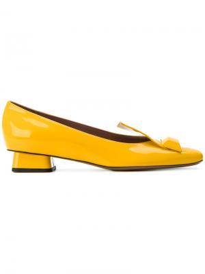 Туфли Vitello Chic Rayne. Цвет: жёлтый и оранжевый
