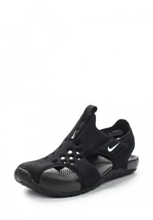 Сандалии Nike. Цвет: черный