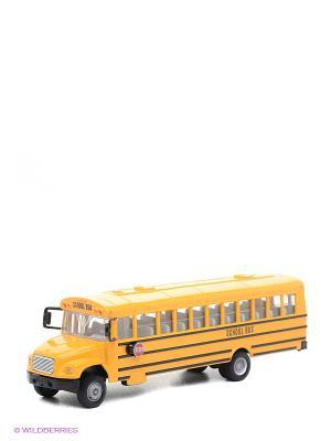 Автобус школьный SIKU. Цвет: оранжевый