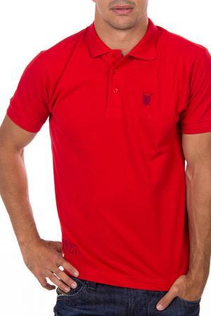 Рубашка-поло POLO CLUB С.H.A.. Цвет: красный