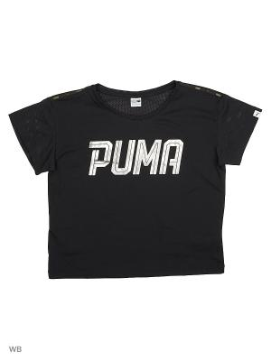 Футболка SPORTSTYLE Layer Tee G Puma. Цвет: черный