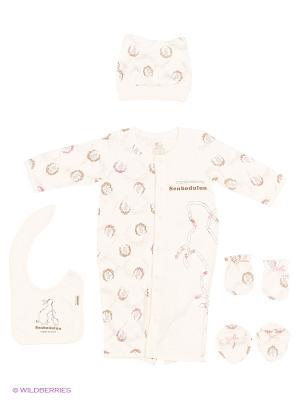 Комплект Senbodulun. Цвет: розовый