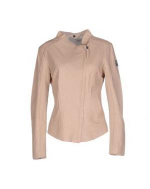 Куртка FREAKY NATION. Цвет: светло-розовый