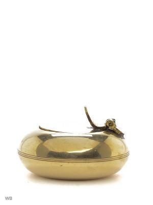 Пепельница карманная латунь ETHNIC CHIC. Цвет: золотистый