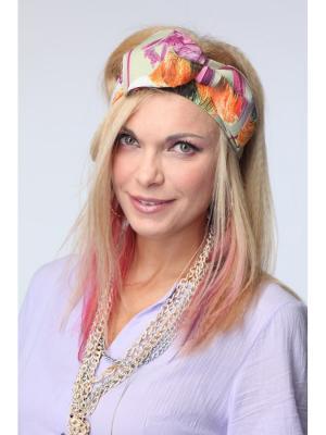 Повязка на голову Lak Miss. Цвет: оливковый