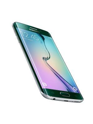 Смартфон Samsung Galaxy S6 Edge 32Gb зеленый. Цвет: зеленый