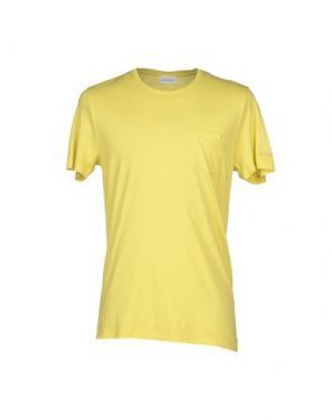 Футболка MAGLIARO. Цвет: желтый