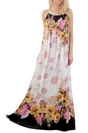 Платье JUNONA. Цвет: мультицвет