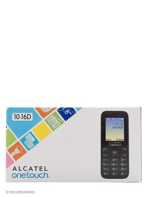 Телефон 1016D Alcatel Russia Volcano Black. Цвет: черный