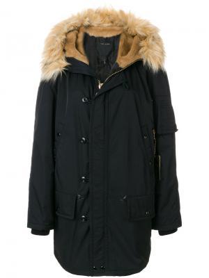 Пальто Snorkel Marc Jacobs. Цвет: чёрный