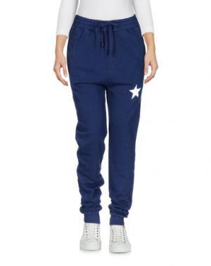 Повседневные брюки MY T-SHIRT. Цвет: темно-синий