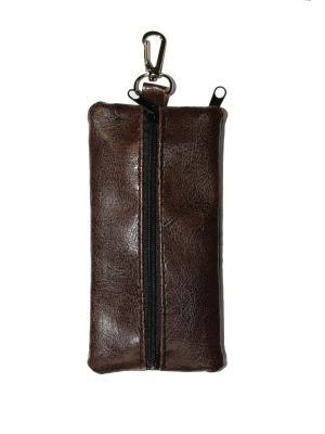 Ключница Mini. Цвет: коричневый