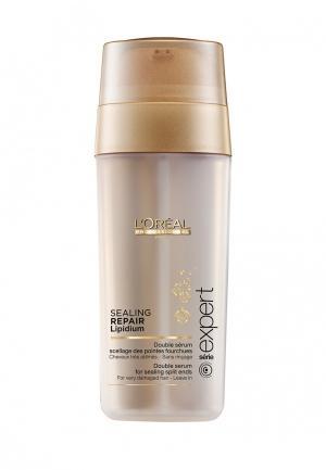 Двухфазная сыворотка для волос LOreal Professional L'Oreal. Цвет: бежевый